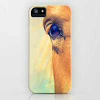 Horse Dreaming iPhone & iPod Case by LilaVert