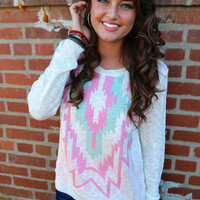Tribal Perfection Knit {Mint}