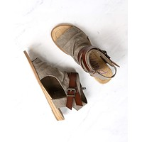 Blowfish - Balla Sandal in Brown Rancher/Whiskey Dyecut