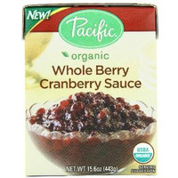 Pacific Natural Foods Whole Cranberry Sauce (12x15.6oz )