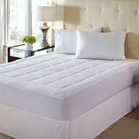 Twin XL Size Microplush Mattress Pad - Hypoallergenic & Machine Washable