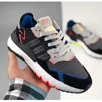 Adidas NiteJogger Nightcrawler 3M reflective outsole retro running shoes