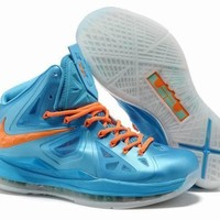 Nike LeBron James 10 Diamond Collection Athletic Shoes Basketball Sneaker