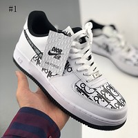 Nike Wmns Air Force 1 new fashion low-top casual sports skateboard shoes