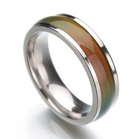 Stainless Steel Ring mood ring