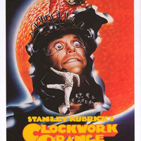 A Clockwork Orange Stanley Kubrick Movie Poster 24x36