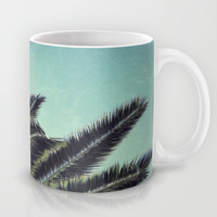 Palms Mug by RichCaspian | Society6
