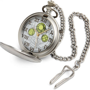 Doctor Who Diecast Master's Pocket Watch
