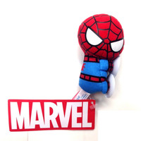 Wall Crawling Spider-Man Marvel Kawaii Art Collection Mini Suction Mascot Plush