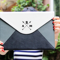 Personalize clutch,leather clutch bag,monogram clutch bag,evening clutch bag,monogram purse,personalized gifts,gift fr bridesmaid