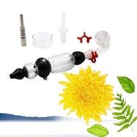 Fashion White Nectar Collector Full Set Glass Accessories