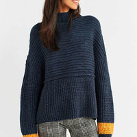 Silence + Noise Ribbed Turtleneck Sweater | Urban Outfitters