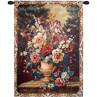 Flowers Tapestry Wall Art Hanging