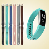 6 Colors Genuine Leather Band Replacement Strap For Fitbit Alta Tracker