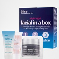 Bliss ASOS Exclusive Night Night Facial In A Box SAVE 21%