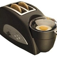 Back to Basics TEM500 Egg-and-Muffin 2-Slice Toaster and Egg Poacher