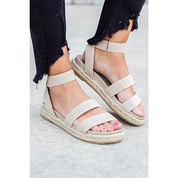 Made For You Sandal - Beige