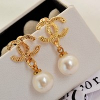 iOffer: gold plated earring 1.4*2.8cm Z01 for sale