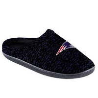 New England Patriots Official NFL Poly Knit Cup Sole Slipper