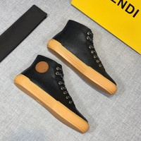 Fendi Black high-top sneaker - Best Deal Online