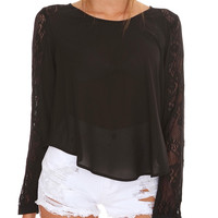 Midnight In City Top
