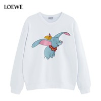 LOEWE fashion new small flying elephant series cotton round neck long-sleeved sweater
