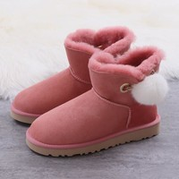 Women's UGG snow boots Low boots DHL _1686248855-382