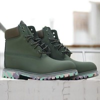 Timberland Boots Waterproof Martin Boots Shoes-1