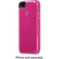 Speck - CandyShell Amped Case for Apple® iPhone® 5 and 5s - Raspberry Pink/Shocking Pink