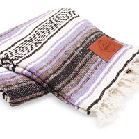 Give Perf Lilac Mexican Blanket