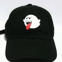 Bryson Tiller Boo Ghost Trapsoul Dad Funny Cap Hat 2017 New Arrive Women Men Unisex Hip-hop Adjustable Baseball Cap Hat Black