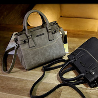Newest Vintage Leather Bag Crossbody Shoulder Handbag