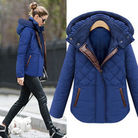 SIMPLE - Women winter Warm Velvet Jacket Coat a13215