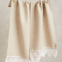 Lace-Trimmed Hand Towel by Stone Cold Fox