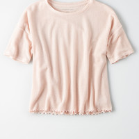 AE Soft Boxy Tee, Blush