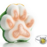 Purrfect - For The Love of Pets Collection - Bath Bomb With a Ring and a Chance to Win a $10k Ring