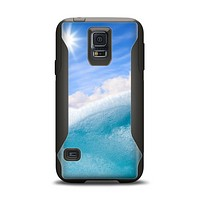 The Sunny Day Waves Samsung Galaxy S5 Otterbox Commuter Case Skin Set