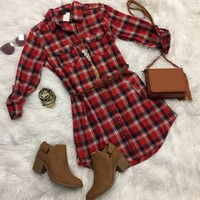 Melody of Memories Belted Tunic