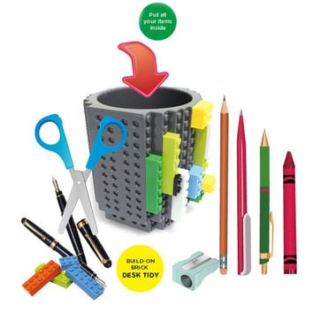 Creative Pen Multi-functioned Diy Stationary Storage Box Jenja [6272109830]