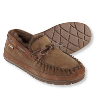 Men's Wicked Good Moccasins, Solid: Slippers | Free Shipping at L.L.Bean