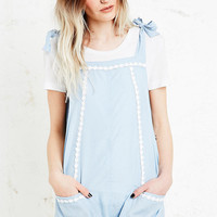 Little White Lies Primrose Playsuit in Blue - Urban Outfitters