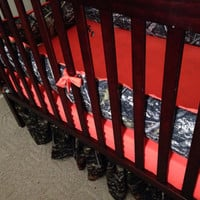 Custom Camo Timber Tree crib set with browning design Real Tree