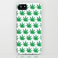 Keep Calm and Smoke Weed iPhone & iPod Case by Tombst0ne
