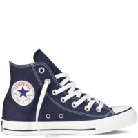 Navy Blue High Top Chuck Taylor Shoes : Converse Shoes | Converse.com