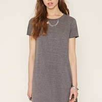 Heathered T-Shirt Dress | Forever 21 - 2000153606