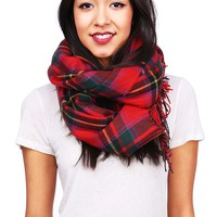 Mad For Plaid Scarf