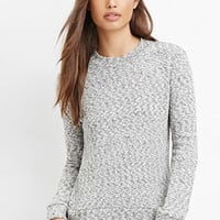 Classic Marled Knit Sweater