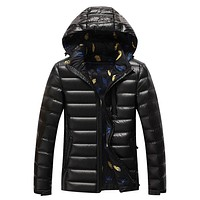 2017 New Casual Afs jeep Brand White Duck Down Jacket Fashion Men Autumn Winter Outwear Warm Coat D263