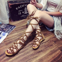 Design Stylish Summer Flat Roman Style Fashion Sandals [10956069775]