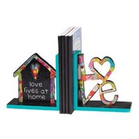 Demdaco Colorful Devotions Love at Home Bookends